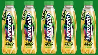 Lucozade Zero Tropical