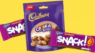 Cadbury Sandwich Snack and Cadbury Cookie Bites