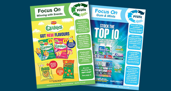 'Focus On' category guides