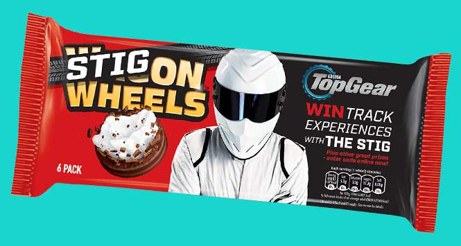 Stig On Wheels/Wagon Wheels pack