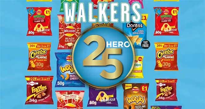 Walkers Hero 25