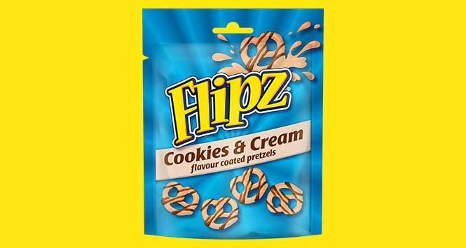 flipz cookies and cream