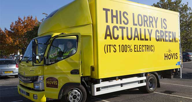 electric lorry