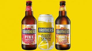 Brothers Cider range