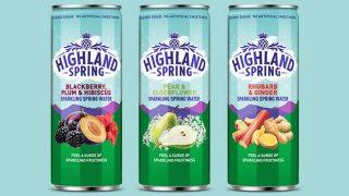 Highland Spring sparkling water range