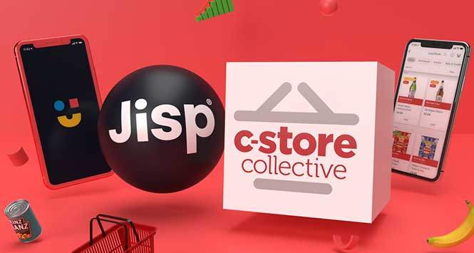 Jisp and C-Store Collective logos