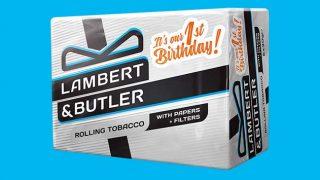 Lamber & Butler rolling tobacco
