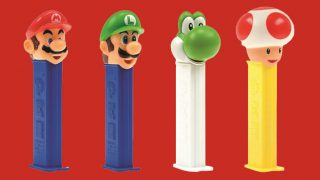 Nintendo Pez dispensers