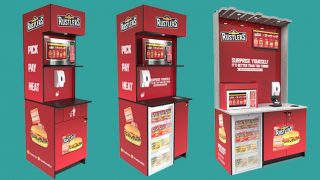 Rustlers food-to-go stations