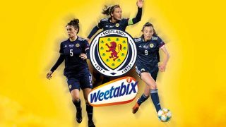 Scotland Women's footballers