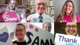 SAMH volunteers