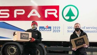 Spar Scotland lorry