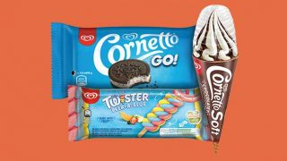 Wall's Cornetto Soft, Cornetto Go and Twister Peek-a-Blue