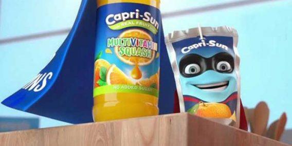 Capri Sun Multivitamn Squash