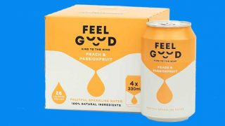 Feel Good Drinks four pack