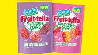 Fruittella Fruit Jellies Duos and Fruit Jellies Coins