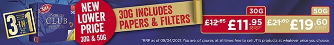 Kensitas Club April 2021 week one section banner