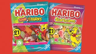 Haribo Sour Sparks and Starbeams