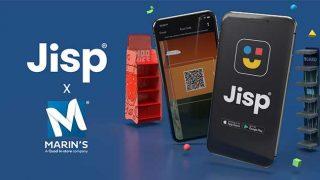 JIsp app and Marin's POS display