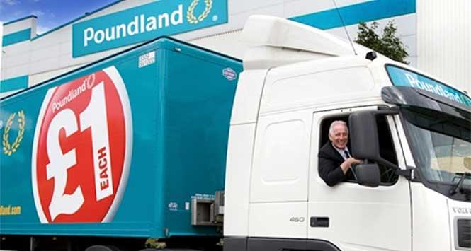 Poundland lorry