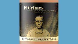 19 Crimes rosé wine
