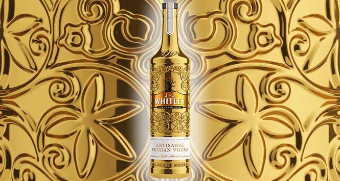 JJ Whitley gold filtered artisanal vodka