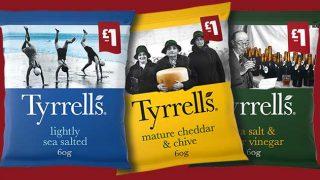 Tyrrells £1 price-marked packs