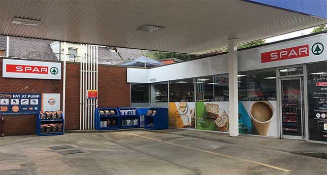 Spar Moffat petrol station