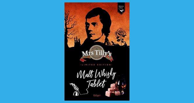 Mrs Tilly's malt whisky tablet