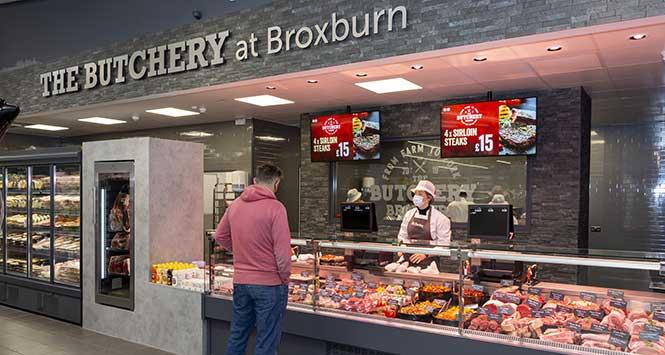 Scotmid Broxburn's butcher counter