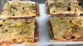 Scotmid's Prosciutto, Mozzarella and Rocket Pizza Sandwich