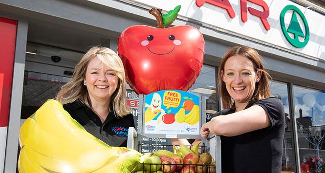 Free fruit for children