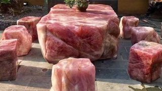Seats that look like meat