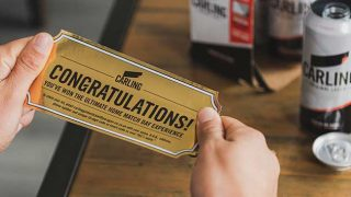 Carling golden ticket