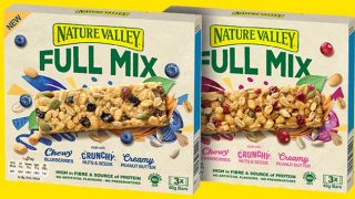 Nature Valley Full Mix bars