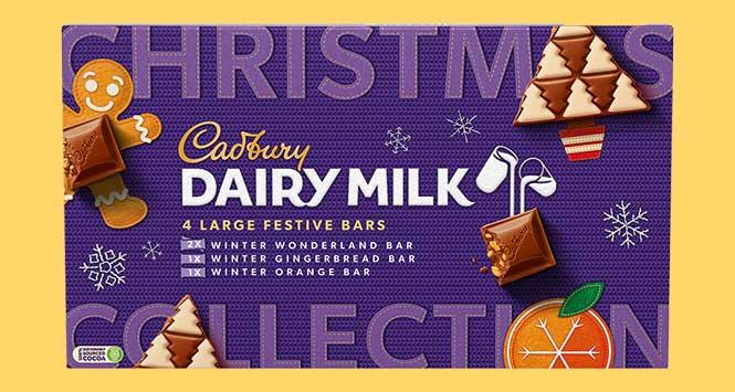 Cadbury Dairy Milk Festive Collection