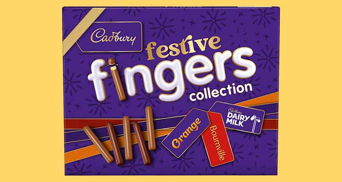Cadbury Festive Fingers Collection