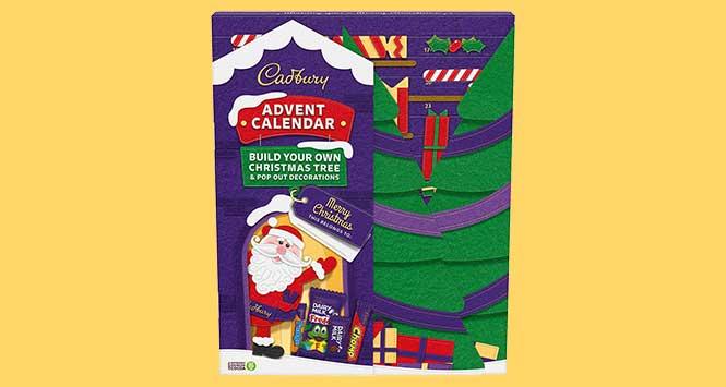 Cadbury Christmas Tree Advent Calendar