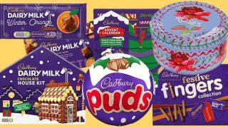 Cadbury Christmas range