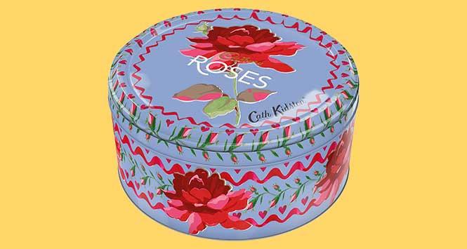Cath Kidson Cadbury Roses Tin