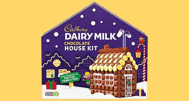 Cadbury Dairy Milk Chocolate House Kit