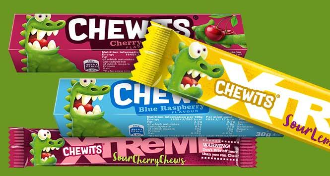 New Chewits range