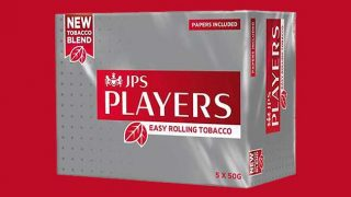 JPS Players rolling tobaco