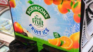 Robinsons Fruit Ice machine