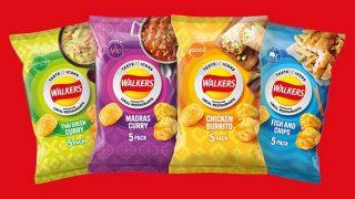 Walkers restaurant flavours range