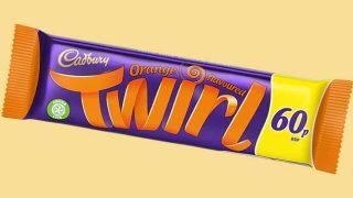 Cadbury Orange Twirl PMP