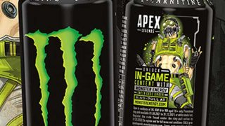 Monster Energy Apex Legends cans
