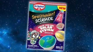 Dr. Oetker solar system cupcake kit