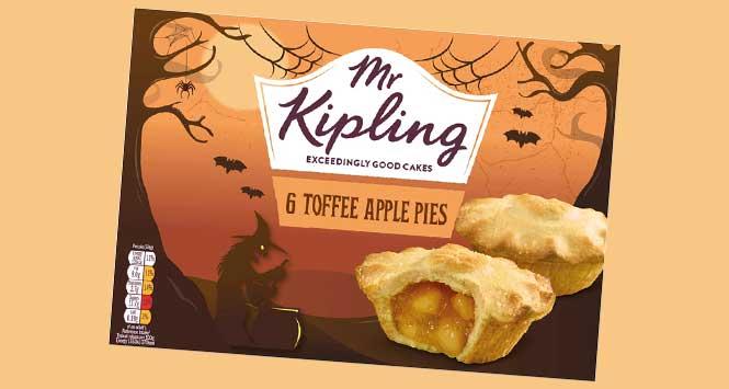 Mr Kipling Toffee Apple Pies