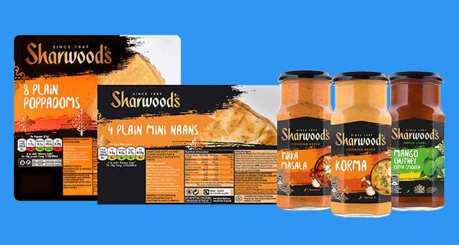 Sharwood's range